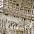 Titus Quadriga_(Forum_Romain)