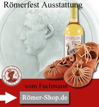 Römerfest Shop Ausstatter