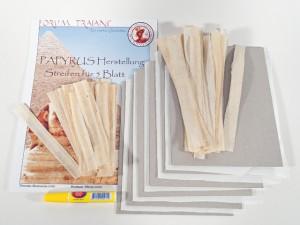 Wie wird Papyrus hergestellt ?