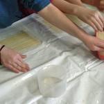 Papyrus-Herstellung-Blatt