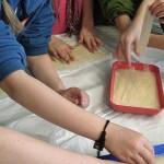 Papyrus-Herstellung-Schule