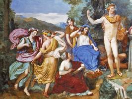 Musen-links-Apollon