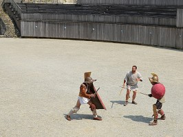 Adesina-Gladiatorenkampf