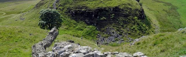 Hadrianswall römische Nordgrenze
