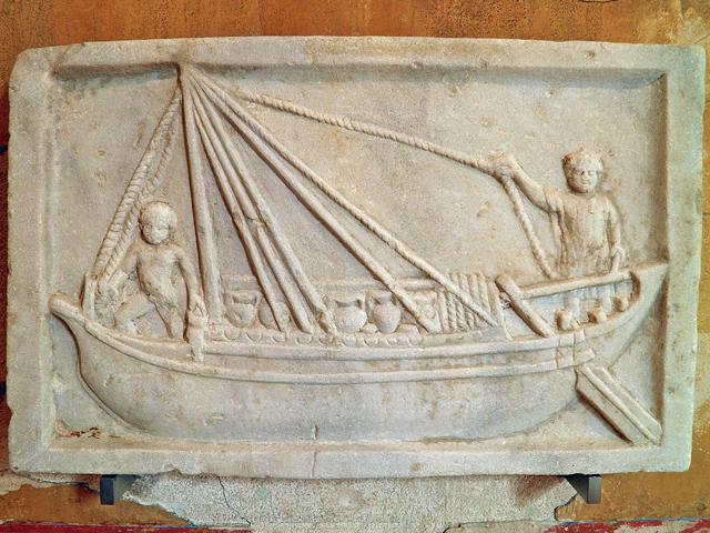 Carole-Raddato-Pompeianum-Schiffrelief