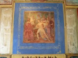Römische Mosaike - Römische Fresken Carole-Raddato-Pompejianum-Wandmalerei