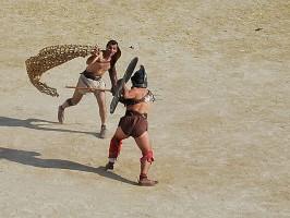 Schuhwerk der Gladiatoren