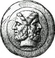 Janus Münze