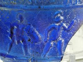 Lyon-Glas-Gladiatoren-Kampf