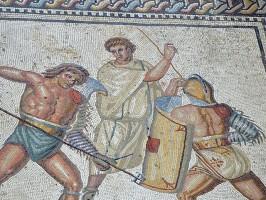 Nennig-Mosaik-Detail