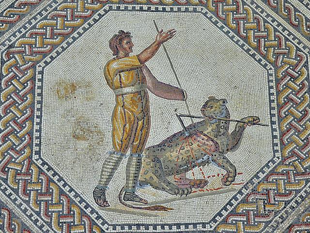 Nennig-Mosaik-kampf