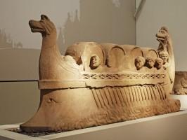 Römisches Weinschiff aus Neumagen