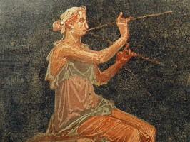 Carole-Raddato-Pompeianum-Musik-Flöte