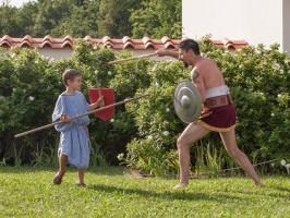Gladiatoren-Ausbildung
