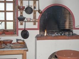 Römer-Küche-Herd