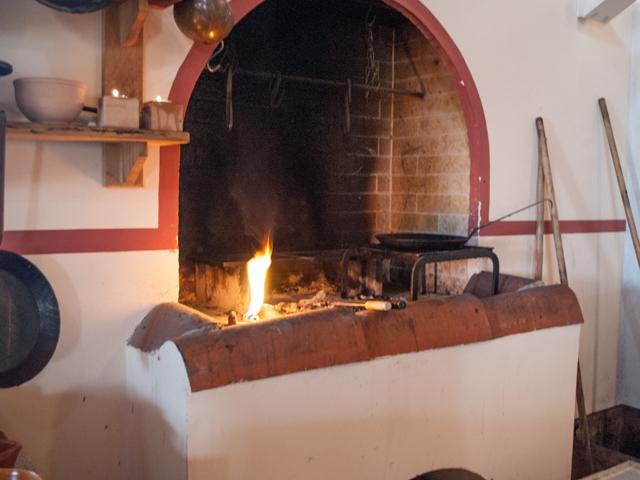Römische-Küche-Herd