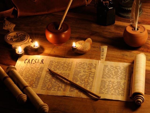 Schreibszene-Römer