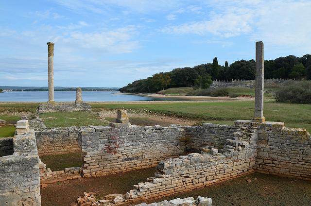 Villa Roman Villa in the Bay of Verige Brijuni Islands Croatia Raddato