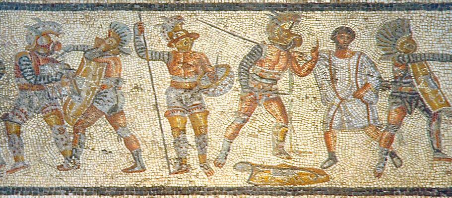 Gladiators_from_the_Zliten_mosaic_3