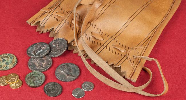 Römische-Münzen
