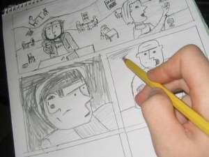 Comic-sketch