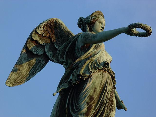 Lar römischer Hausgott Forum Traiani Römer Statue