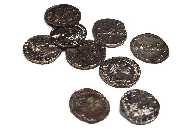 Römische_Münzen