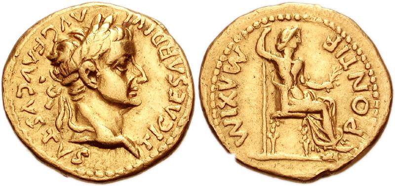 Tiberius&Livia_Aureus