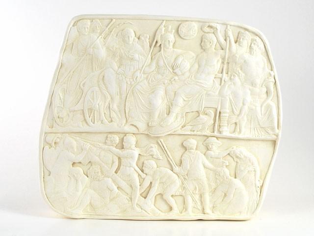 Relief Shop römischen Censor