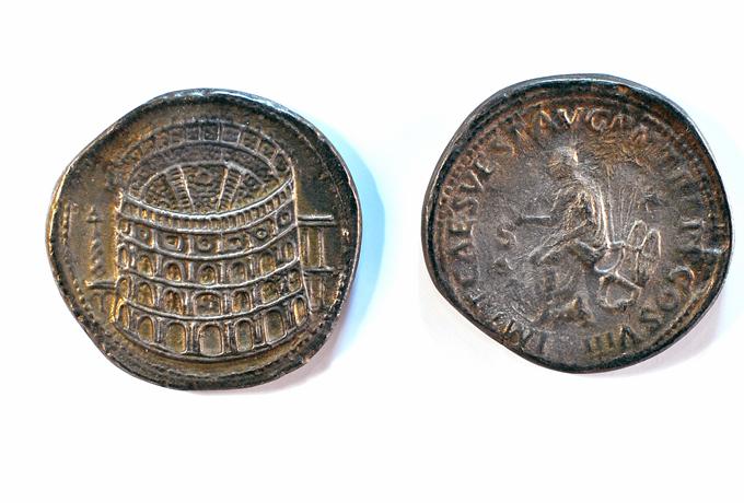 Kolosseum Münze Rom