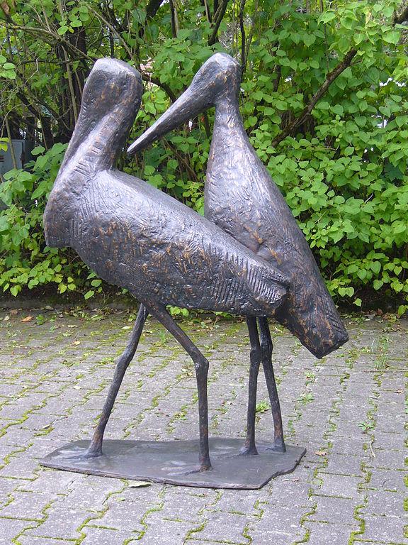 Storch_und_Störchin_1957_Philipp_Harth