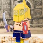 Basteln mit Papier Gladiator