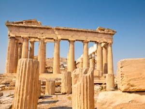 Römische Spiele von Griechenland bis Rom Tempel Parthenon