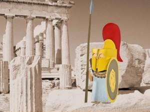 Gottheit Minerva - Athena