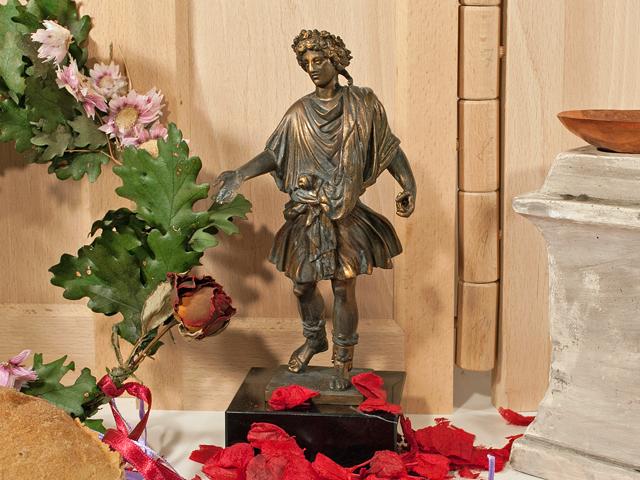 Lar der Römer für einen Altar