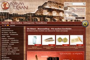 Der Römer Shop - Geschichte zum Begreifen