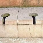 Römische Toilette
