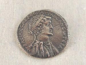 Kleopatra Münze