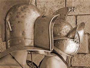 gladiatorenhelme