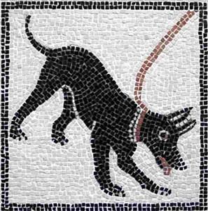 Cave Canem Römischer Hund