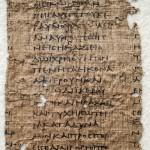 Antike Papyri aus Brüssel